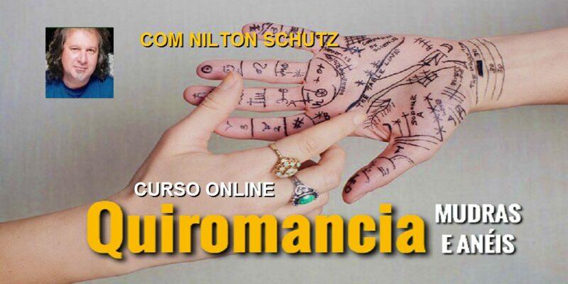 Curso Online Quiromancia, Mudras e Anéis – Nilton Schutz