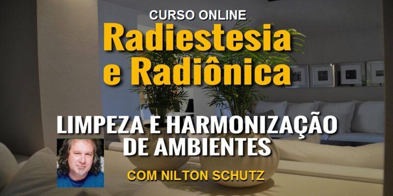 Curso Online Limpeza e Harmonização de Ambientes – Nilton Schutz