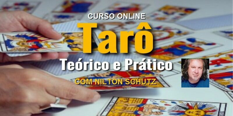 Curso Online Tarô Teórico e Prático – Todos os Arcanos – Nilton Schutz