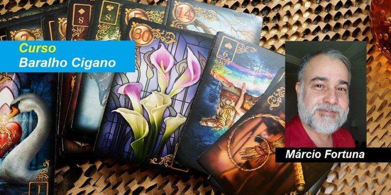 Curso Baralho Cigano – Márcio Fortuna – Online – Terça