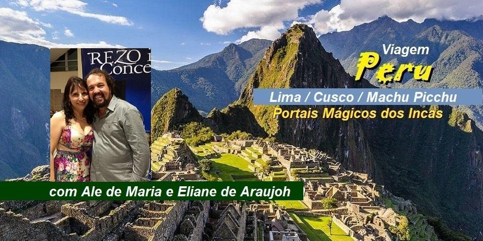 Viagem Peru Folder Ale de Maria e Eliane