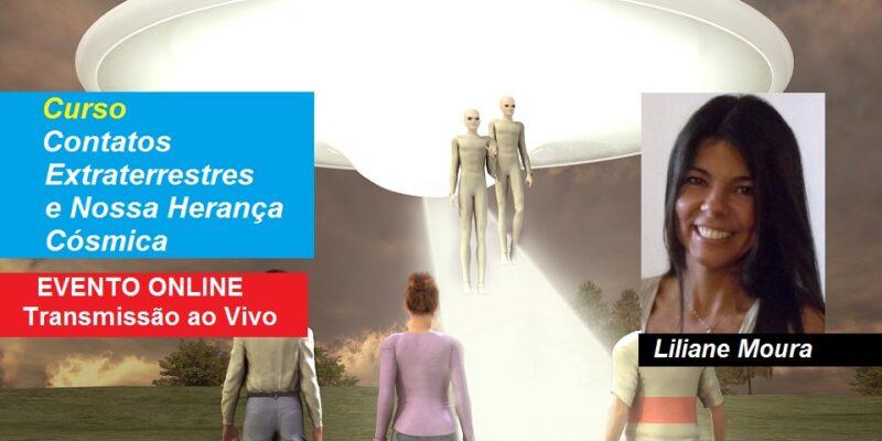 Curso Online Contatos Extraterrestres e Nossa Herança Cósmica – Liliane Moura