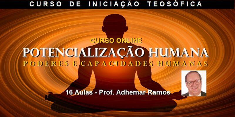 Curso Online Potencialização Humana – Prof. Adhemar Ramos – 25% Desconto