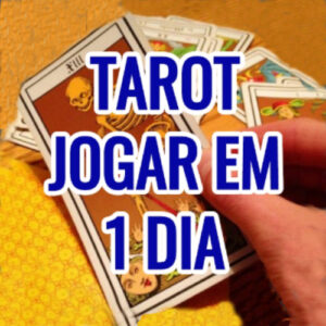 Palestra Online Tarot - Jogar em 1 Dia