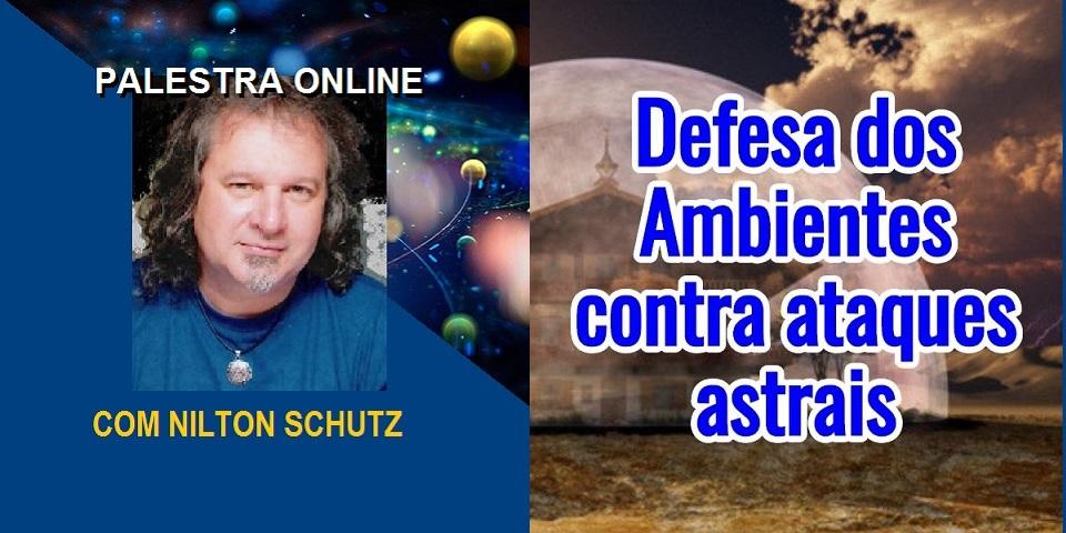 Palestra Online Defesa dos Ambientes Contra Ataques Astrais