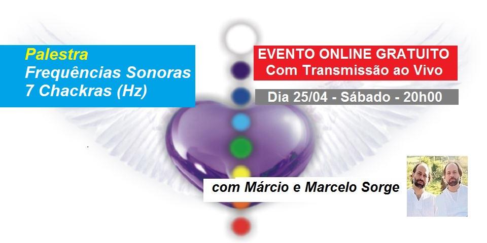 Palestra Online Frequencias Sonoras 7 Chacras