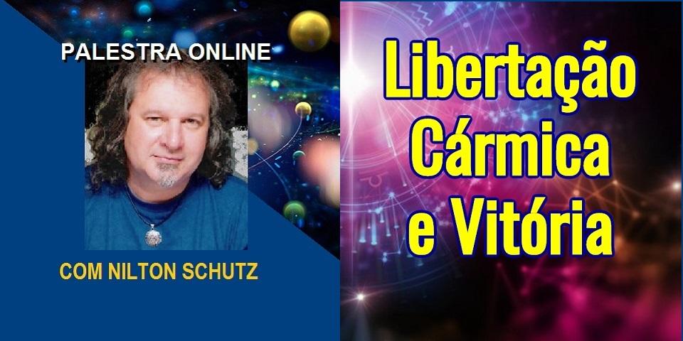 Palestra Online Libertacao Carmica e Vitoria