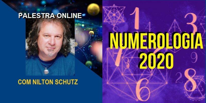 Palestra Online Numerologia 2020 – Pitagórica e Cabalística – Nilton Schutz