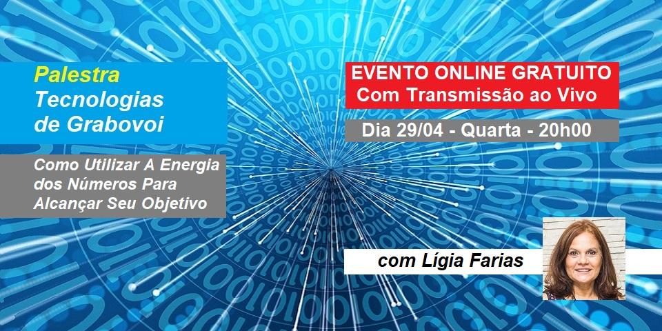 Palestra Online Tecnologias de Grabovoi
