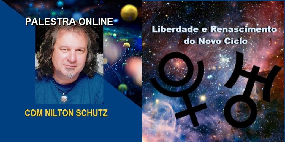 Palestra Online Urano e Netuno Liberdade e Renascimento