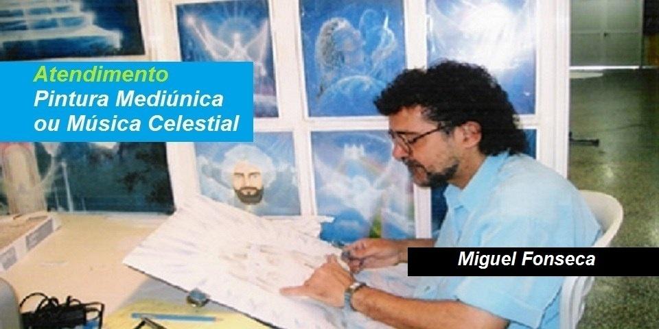 Atendimento Pintura Mediunica - Miguel