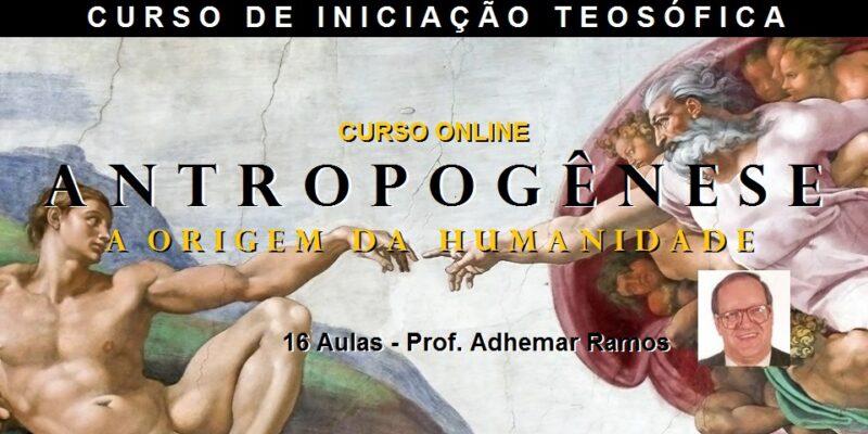 Curso Online Antropogênese – Prof. Adhemar Ramos – com 25% de Desconto