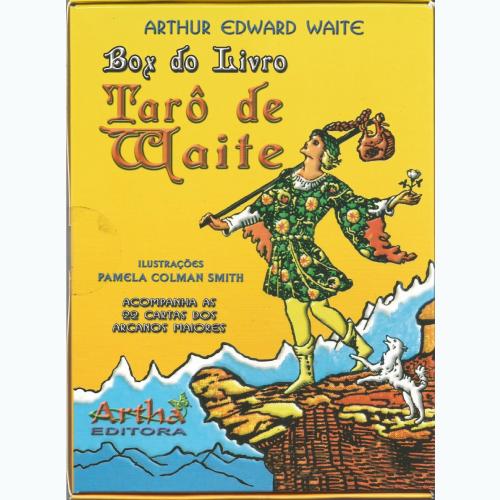 Box do Livro Tarô de Waite