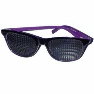 Óculos Terapêuticos Redondo de Haste Interna Roxa