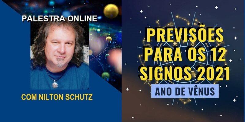 Palestra Online Previsões Para os 12 Signos 2021 – Ano de Vênus