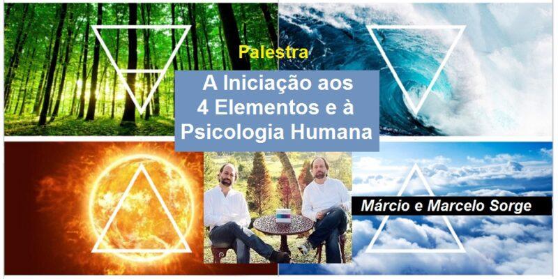 Palestra A Iniciação aos 4 Elementos e à Psicologia Humana – MM Sorge