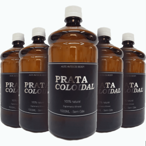 - Prata Coloidal - Kit com 5