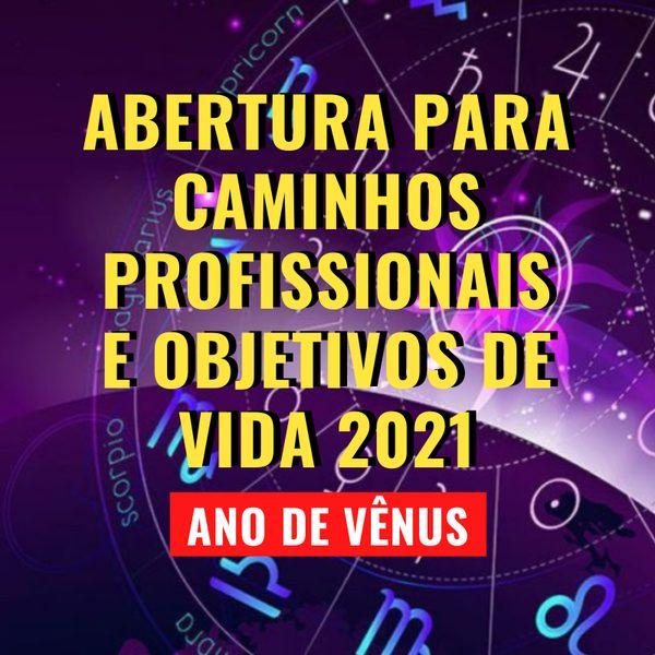 Palestra Online: Astrologia 2021 - Abertura para caminhos profissionais e objetivos de vida