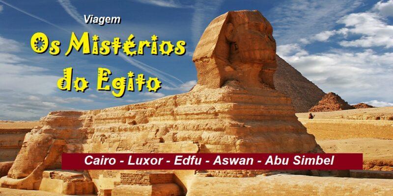 Viagem Os Mistérios do Egito
